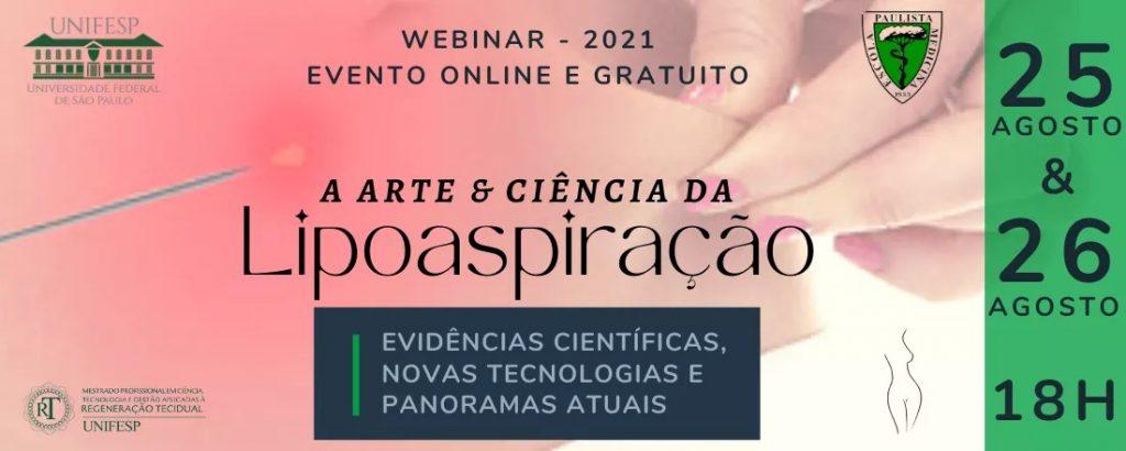 webinar arteciencia lipoaspiracao ago21